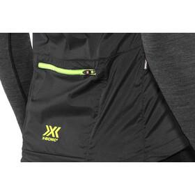 X-Bionic Spherewind Pro Veste de running Homme, black/neon yellow